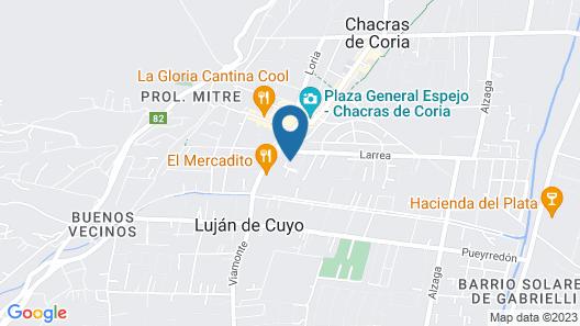 Lares de Chacras Map