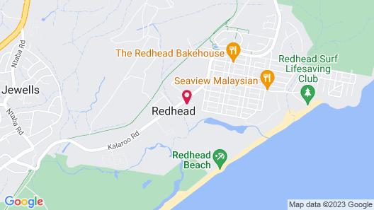 Redhead Beach Holiday Park Map