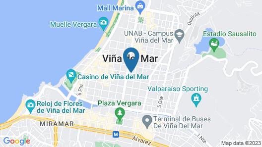 Novotel Viña del Mar Map