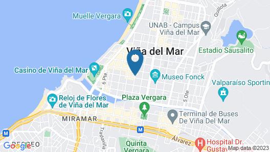 Jaguar Hostel + Living Map