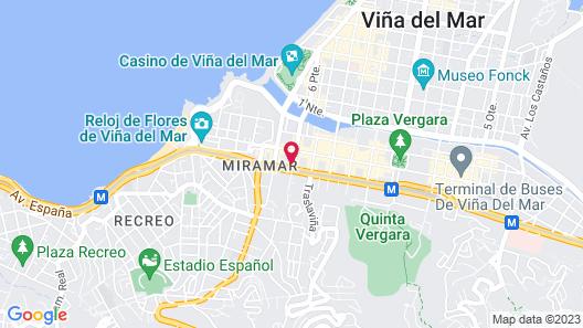 Best Western Marina Del Rey Map