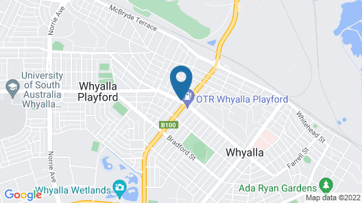 Eyre Hotel Whyalla Map