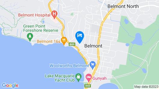 Belmont Bayview Park Map