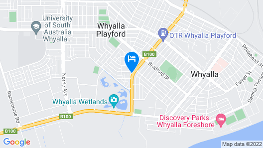Alexander Motel Whyalla Map