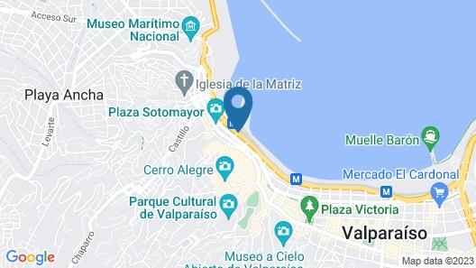 Ibis Valparaiso Map