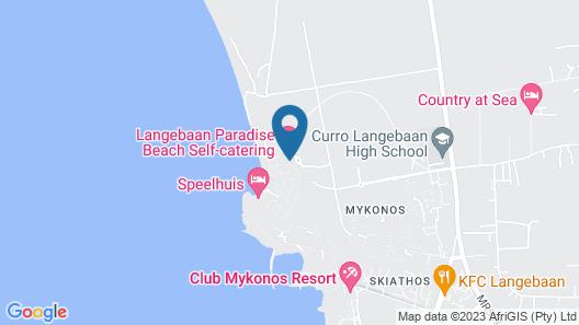 Perle of Paradise Beach Map
