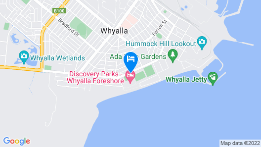 Discovery Parks – Whyalla Foreshore Map