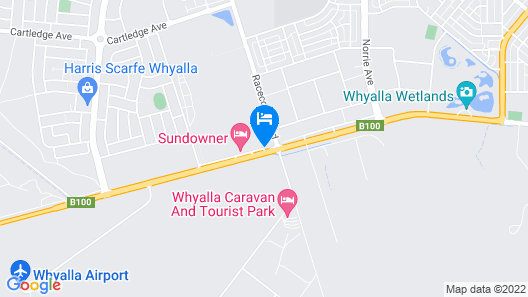 Airport Whyalla Motel Map