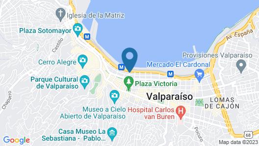 Diego De Almagro Valparaiso Map