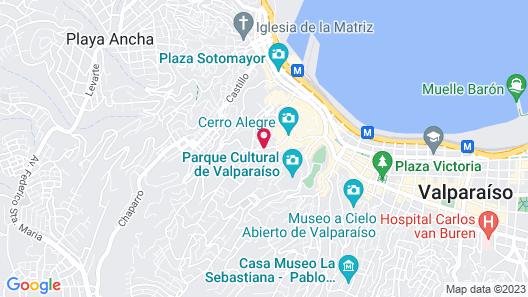 Casa Galos Hotel & Lofts Map