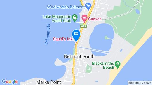 Squid Ink Motel Map