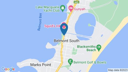 Lakeview Motor Inn Map