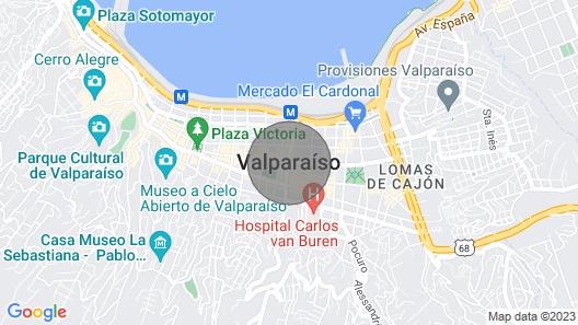 Casa en Condominio Antares Playa de Ritoque 001 Map