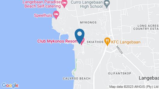 Club Mykonos Athenian Cascades Map