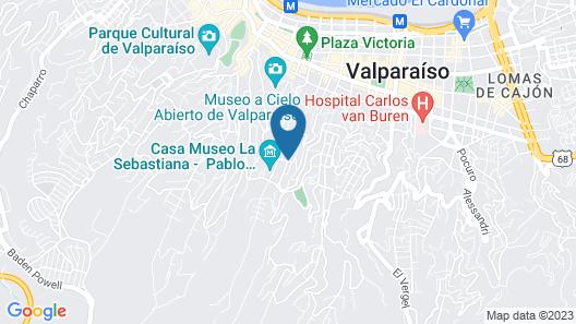 Verso Hotel Map