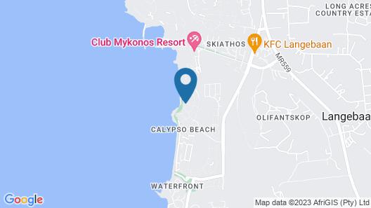 West Coast Life Lodges Map