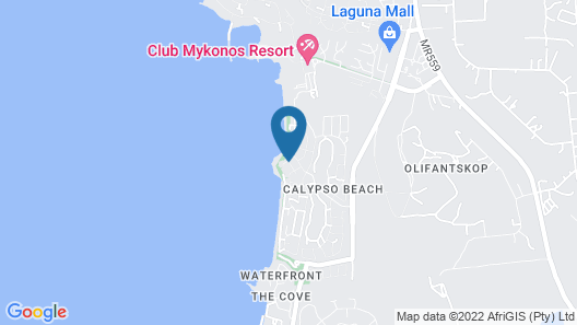 12 Calypso Mansion Self catering Map