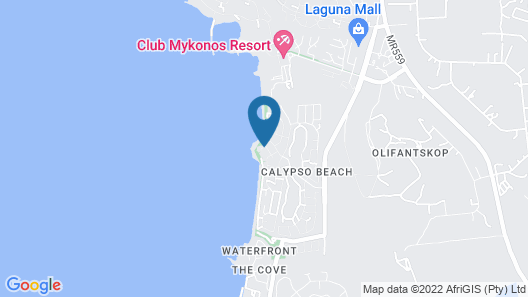 Calypso Mansion at WestCoastLife Collection Map