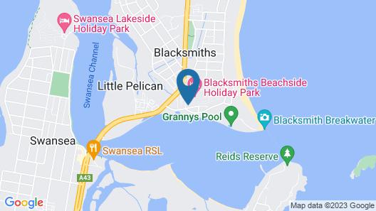 Waterside Retreat Map