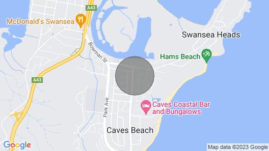 Modern Beachside Apartment Map