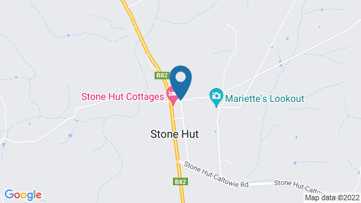 Stone Hut Cottage Map