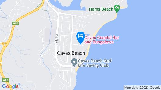 Caves Coastal Bar & Bungalows Map