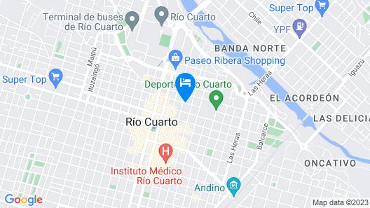 Apart Loft 216 Map