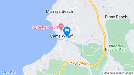 Raffertys Resort Map