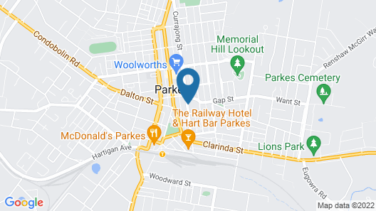 The Old Parkes Convent Map
