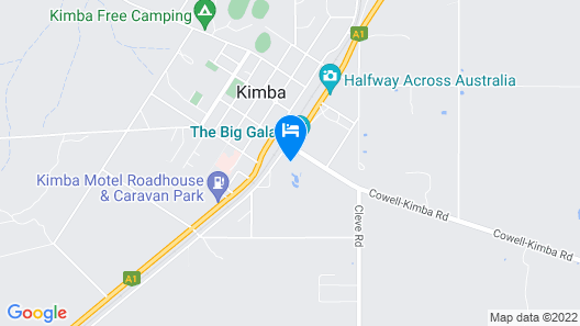 Kimba Travellers Haven Map