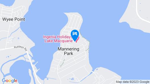 Ingenia Holidays Lake Macquarie Map