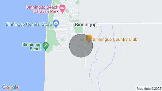 Binningup Treehouse Eco Retreat Map