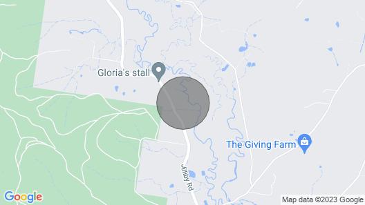 Jilliby Cottage Map