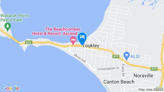 Toukley Motor Inn Map