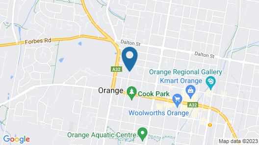 The Sampson - Orange Map