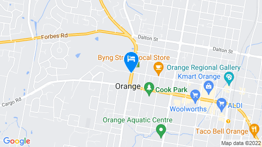 Duntryleague Guesthouse Map