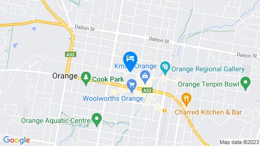Mercure Orange Map