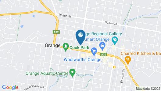 de Russie Boutique Hotel Orange Map