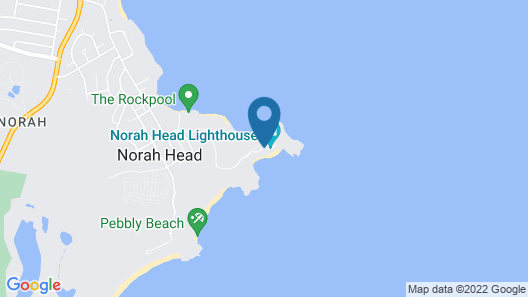 Norah Head Lighthouse Map