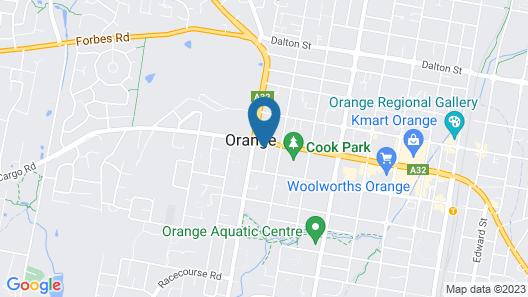 A Colourcity Apartments Map