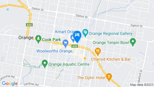 Royal Hotel Orange Map