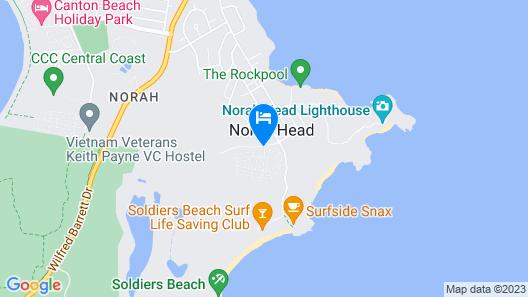 Norah Head Holiday Park Map