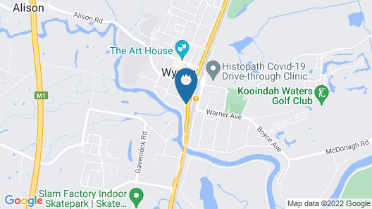 Royal Hotel Wyong Map