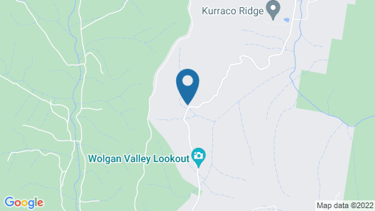 Emirates One&Only Wolgan Valley Australia Map