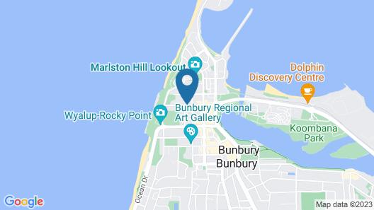 Wander Inn – Bunbury Backpackers Map