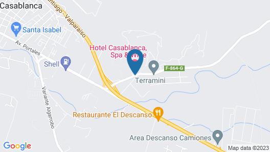 Hotel Casablanca,Spa & Wine Map