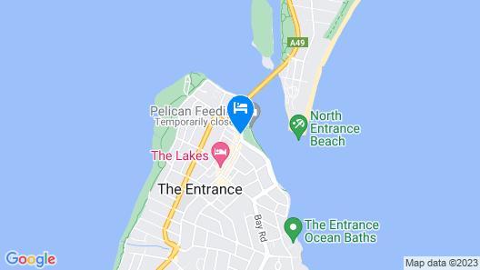 Coast Luxury Apartment 24 Map