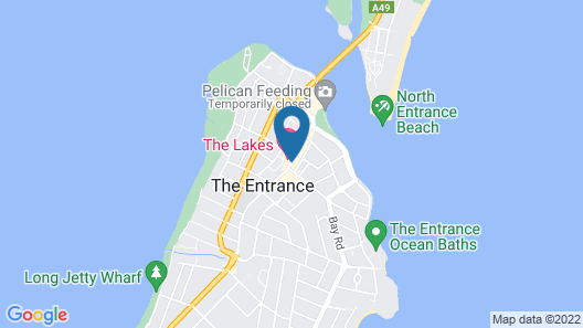 The Lakes Hotel Map