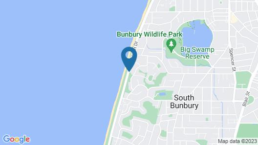Bunbury Seaview Apartments Map