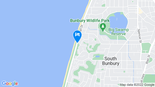 Bunbury Seaview Apartments Map